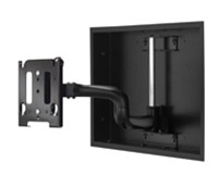 "Chief MWRIW6000B, Flat Panel In-Wall Swing Arm Mount (30-50"" Displays)"