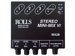 Rolls MX28 Stereo Mini-Mix VI