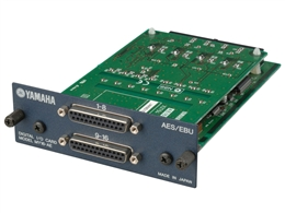 Yamaha MY16AE - 16-Channel AES/EBU I/O Card