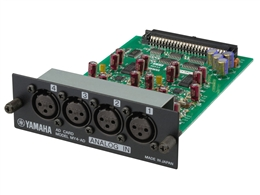 Yamaha MY4AD - 4-Channel Analog Input Card