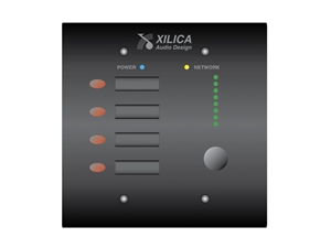 Xilica Mini K4 White, Four programmable Level Controls, NeuPanel Series