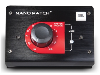 JBL Nano Patch+ Compact 2 Channel Passive Volume Controller