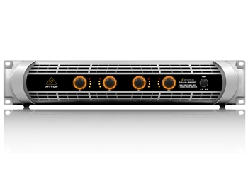 Behringer NU4-6000 - Ultra-Lightweight, High-Density, 6000-Watt 4-Channel Power Amplifier