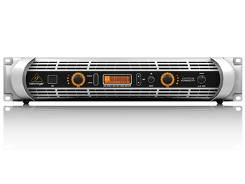 Behringer NU6000DSP - 6000-Watt Power Amplifier with DSP Control and USB Interface