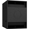"Turbosound NuQ118B-AN 3000W 18"" Band-Pass Subwoofer with KLARK TEKNIK DSP Technology and ULTRANET Networking (Black)"