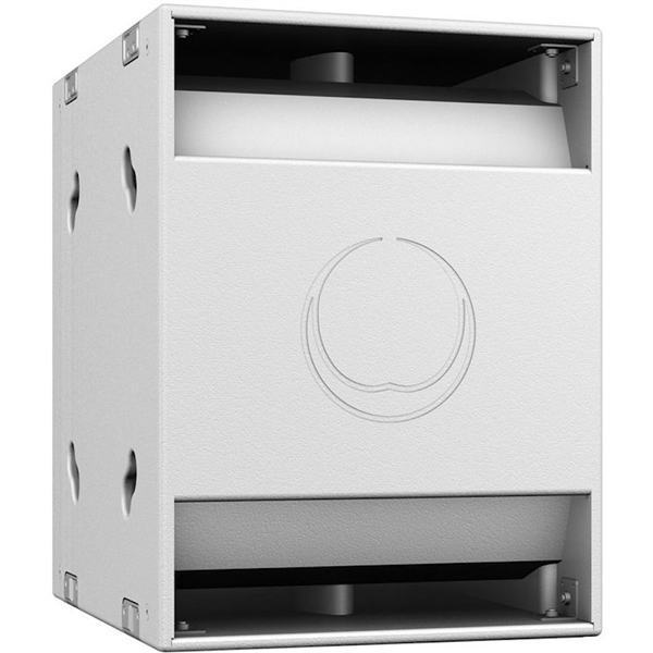 "Turbosound NuQ118B-AN 3000W 18"" Band-Pass Subwoofer with KLARK TEKNIK DSP Technology and ULTRANET Networking (White)"
