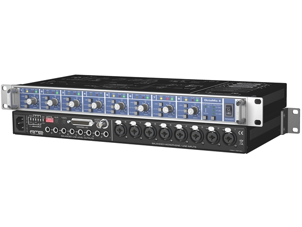 RME OctaMic II 8-Channel Microphone Preamp with AD Conversion
