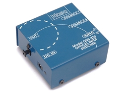 Hosa ODS-330 Optical Splitter, Two Inputs, One Output