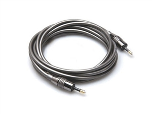 Hosa OMM-310 Premium Optical Cable - 3.5mm to 3.5mm - 10 ft.