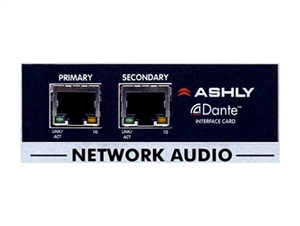 Ashly OPDante - Dante Input Option (Dante Network Audio Interface)