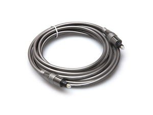 Hosa OPM-310 Premium Optical Cable - Toslink to Toslink - 10 ft.