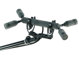 Schoeps ORTF Surround Bar LM for ORTF-Surround using four CCM 41L microphones