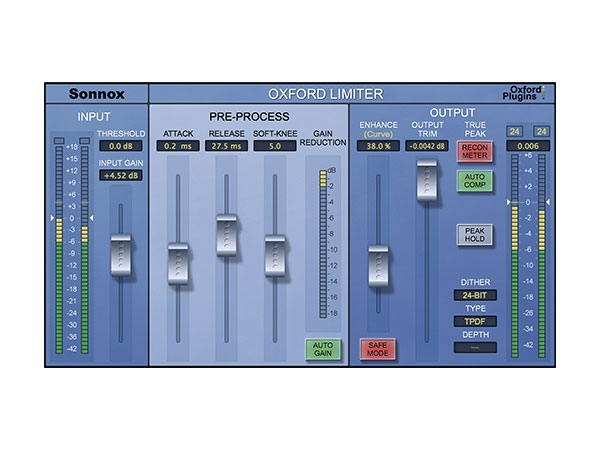Sonnox Oxford Limiter Plug-in HD-HDX (Download)