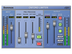 Sonnox Oxford Limiter Plug-in Native