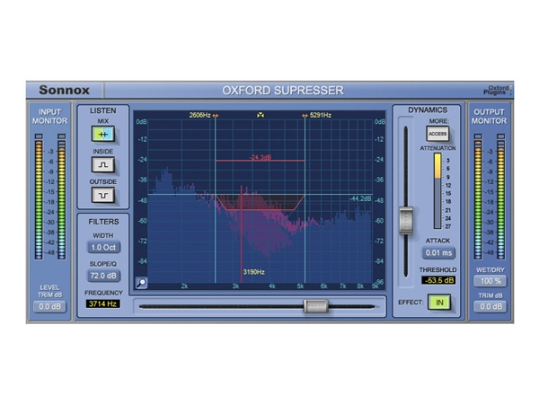 Sonnox Oxford SuprEsser Plug-in Native (Download)