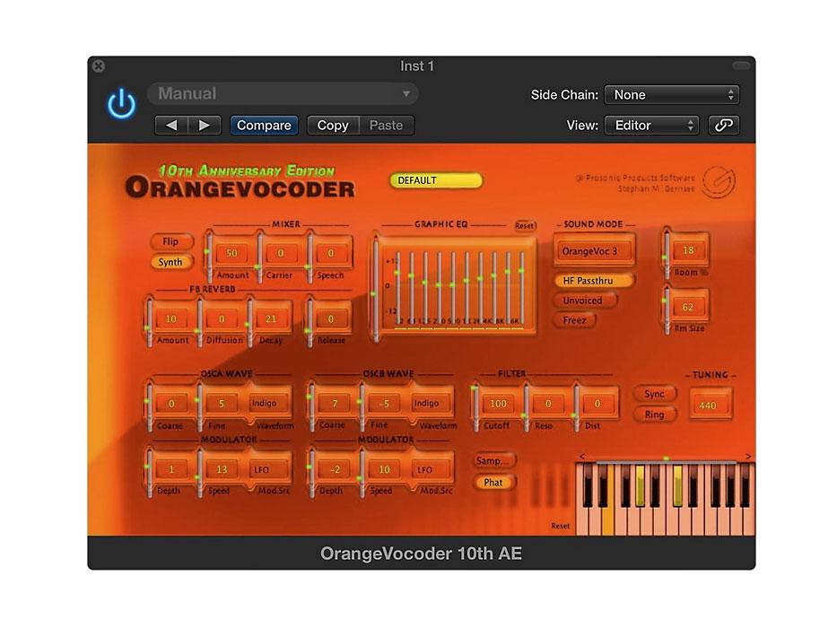 Orange Vocoder скачать - фото 8