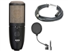"AKG Perception P420 Multi-Pattern Condenser Microphone w/ FREE 20' Whirlwind Mic Cable & FREE On-Stage 6"" Pop Filter"
