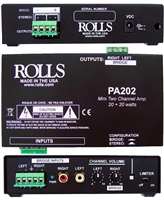 Rolls PA202 20 + 20 Watt Mini Amp