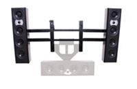"Chief PACLR2, .Flat Panel Left/Right Speaker Adapter (46-65"" Displays)"