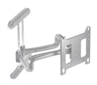"Chief PDRUS, Universal Flat Panel Dual Swing Arm Wall Mount (42-71"" Displays)"