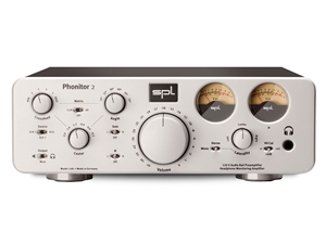 SPL Phonitor 2 Silver - High-end Headphone Monitor Amp