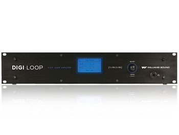 PLA DL210NET Digi-Loop DSP Dual Channel Loop Amplifier, Williams Sound