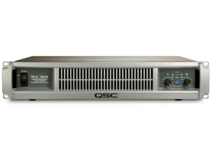 QSC PLX1802, 2-Channel Power Amplifier - 330W/ch at 8 Ohms