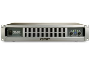 QSC PLX3102, 2-Channel Power Amplifier - 600W/ch at 8 Ohms