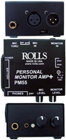 Rolls PM55 Personal Monitor Amp Battery Optional