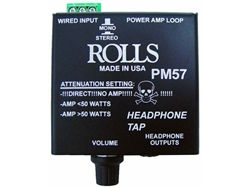 Rolls PM57 Headphone tap with Attenuation Switch