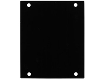 ACE Backstage PNL-100 Aluminum P Panel BLANK, BLACK