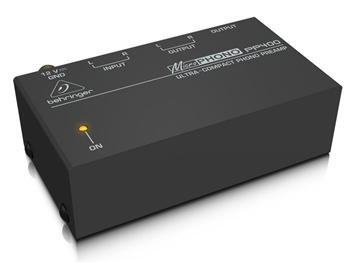 Behringer PP400 - MicroPhono Ultra-Compact Phono Preamplifier
