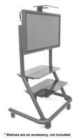 "Chief PPCU, Flat Panel Presenters Cart (42-61"" Displays)"