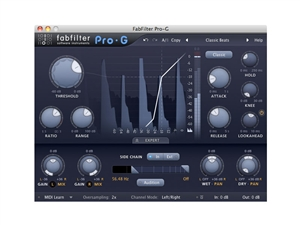 FabFilter Pro-G, Indispensable tool for mixing live plug-in (Download)