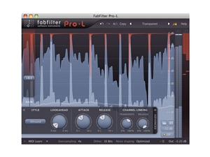 FabFilter Pro-L, Feature-packed brickwall limiter plug-in (Download)