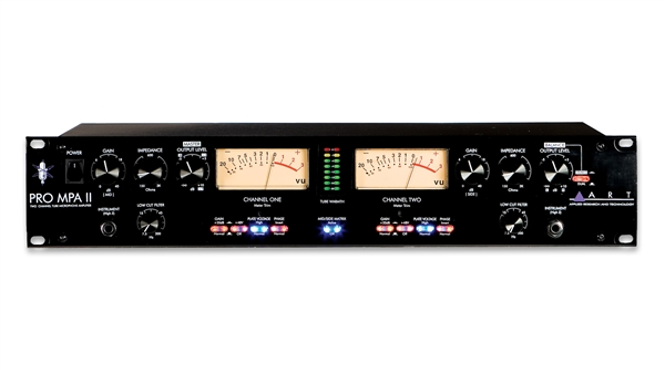 ART Audio PRO MPA II - Professional Two Channel Mic Preamp