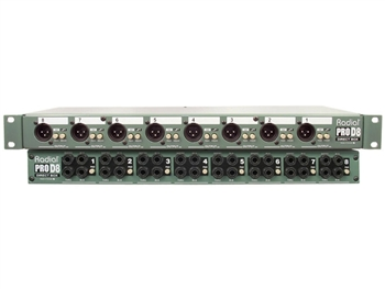 Radial Pro D8 Passive 8-Channel Direct Box