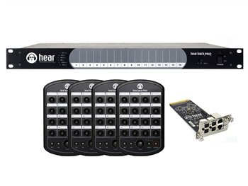 Hear Technologies Hear Back PRO Four Pack, ADAT Input