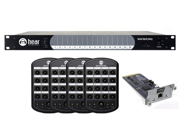 Hear Technologies Hear Back PRO Four Pack, Waves Input