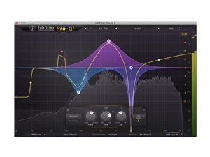 FabFilter Pro Q2, Powerful Linear-Phase Mid/Sides EQ Plug-in (Download)