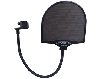Avant Electronics Pro-Shield, Metal Studio Pop-Filter w/ Gooseneck & Clamp