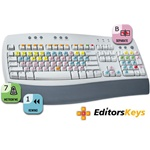 AskVideo Pro Tools Key Command Keyboard Stickers