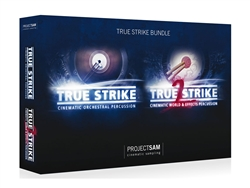 ProjectSAM True Strike PACK, Complete Cinematic Orchestral Percussion Library