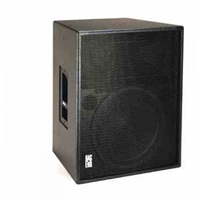 "Bag End PTA5000-R - Powered RO-TEX Finish 15"" 2-Way Portable Enclosure w/ Fly Points"