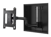 "Chief PWRIW2000B, Flat Panel In-Wall Swing Arm Mount (37-55"" Displays)"