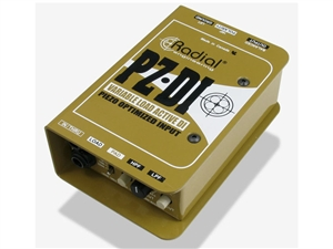Radial Engineering PZ-DI Active DI for orchestra
