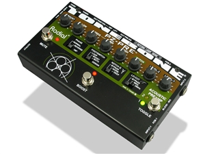 Radial Tonebone PZ-Pre - 2-Channel Instrument Preamp with EQ and Notch Filter