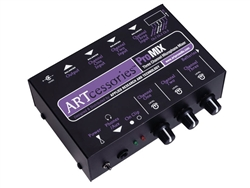ART Audio ProMIX - Three Channel Microphone Mono Mixer