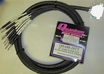 Quantum Audio QDA88-10TT 8-Channel D-SUB 25pin to 8 TT Males Cable, 10 Ft.
