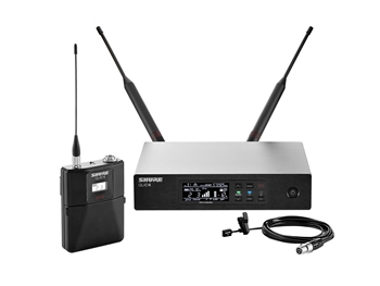 Shure QLXD14/93 H50 Band (534.000 - 597.925 MHz) WL93 Lavalier Microphone System